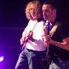 Gus sul palco con Arianna Antinori e i suoi Turtle Blues Band